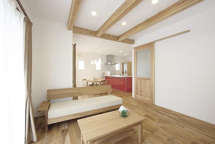 池田町G様邸「漆喰と無垢の木でつくるスタイリッシュな住まい」