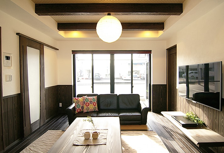 岐阜市H様邸「好きなものを詰め込んだ和モダンなカフェスタイル」