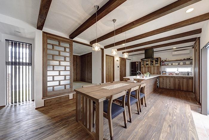 池田町I様邸「アンティークテイストな南欧風の家」