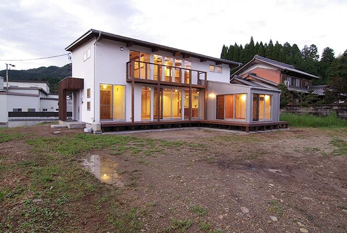 山県市W様邸「床暖房付きの、風邪通しのよい爽やかな家」