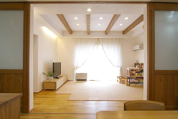 東浦町K様邸「漆喰と無垢材の自然素材が心地よい家」