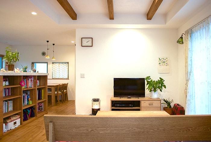 池田町O様邸「ハンモックと暮らす夏涼しく冬暖かな家」