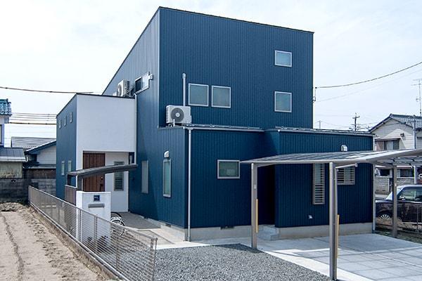 岐阜市I様邸「オーガニックカフェを連想させる、自然素材の家」
