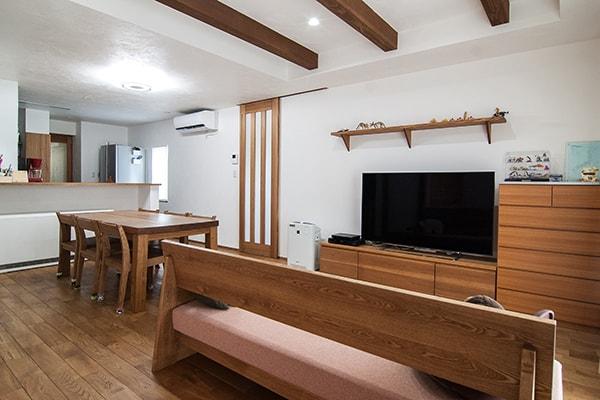 岐阜市I様邸「回遊動線で暮らしやすい、オーガニックでくつろげる家」