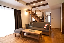 美濃市F様邸「しっとりしたヴィンテージ感のある落ち着いた家」