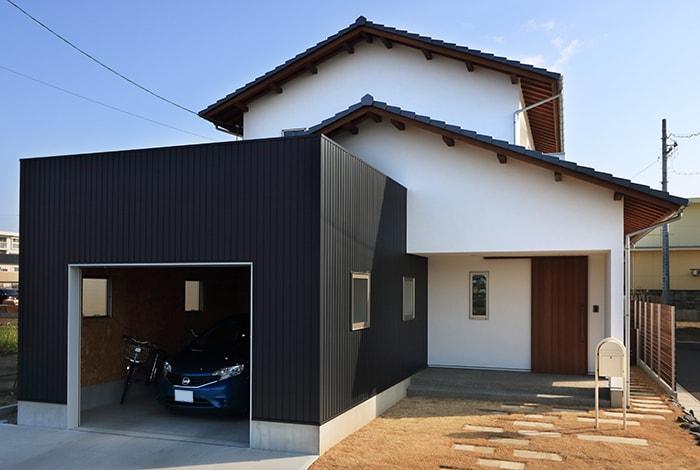 岐南町M様邸「家事ラクでストレスフリーの開放的なガレージハウス」