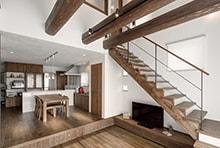 蟹江町K様邸「無垢材と漆喰でつくる和カフェスタイルの家」
