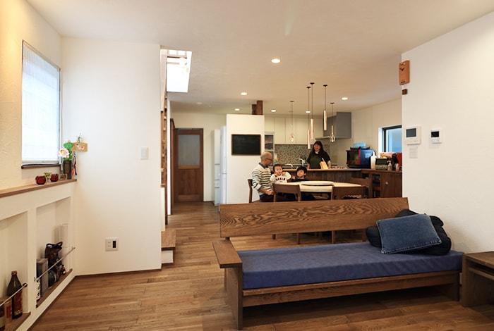 豊田市K様邸「広さと間取りにこだわった快適な二世帯住宅」