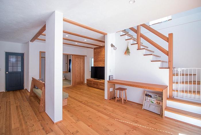 岐南町N様邸「生活動線にも大満足の家事ラクな可愛い家」