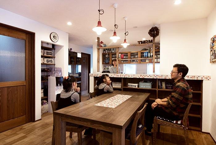 垂井町K様邸「外観が個性的なタイルのかわいい家」