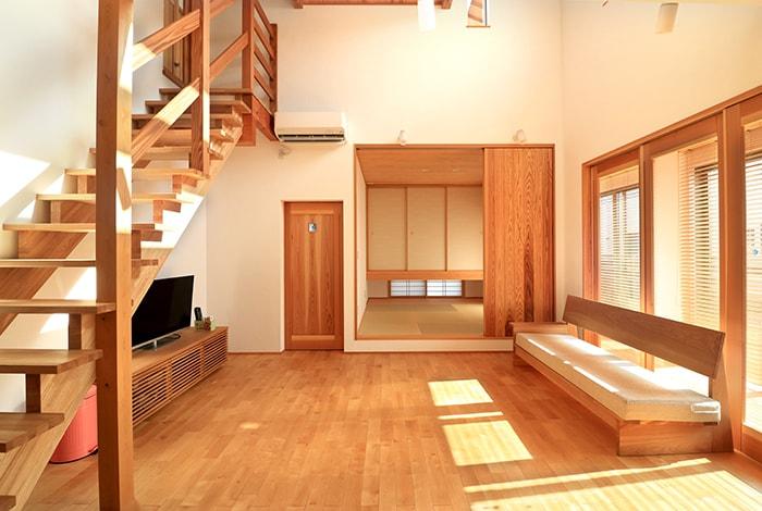 岐阜市岐南町M様邸「家事ラクでストレスフリーの開放的なガレージハウス」