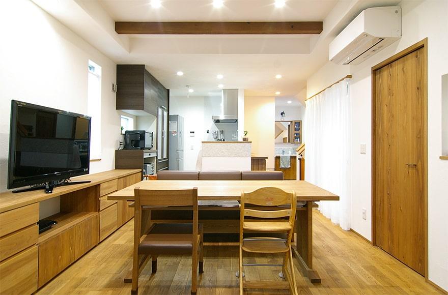 名古屋市I様邸「無垢材で統一されたオシャレな住まい」