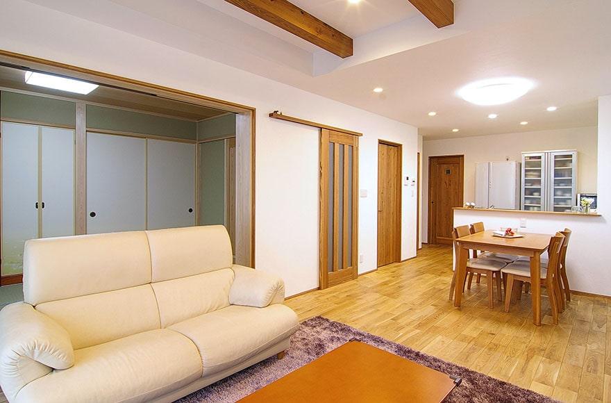 名古屋市H様邸「自然素材の人にやさしい家」