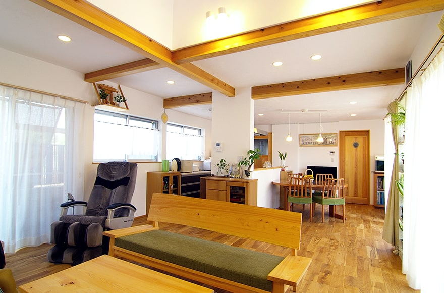 池田町K様邸「オールシーズン快適に過ごす自然素材の家」
