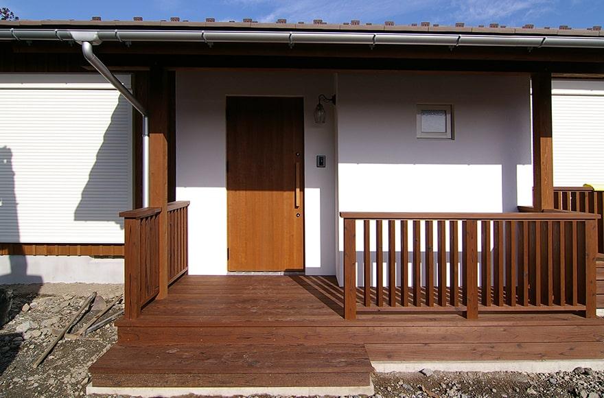 揖斐川町M様邸「ニッチとスキップフロアのオシャレな平屋の家」