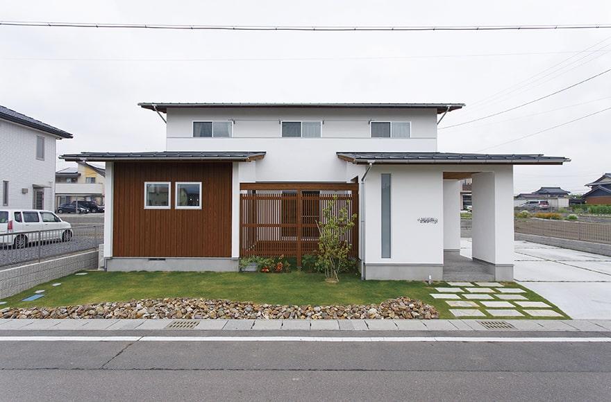 美濃加茂市N様邸「爽やかな風と光の差し込む和カフェ風の家」