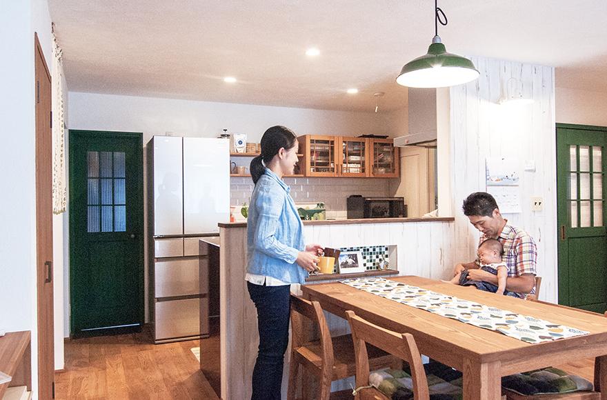 岐阜市T様邸「山派のアウトドアも楽しめる緑あふれるカフェの家」