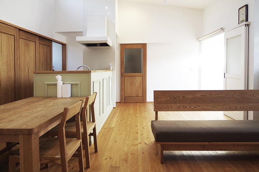 岐阜市S様「生活はすべて一階で、引き算で設計された平屋風の家」