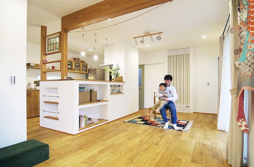 一宮市S様「半二世帯住宅のタイルがかわいい温ったCafeの家」