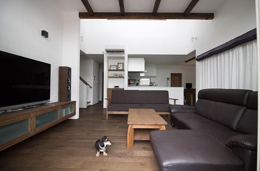 羽島郡O様邸「平屋風2階建てで暮らすメンテナンスフリーの家」