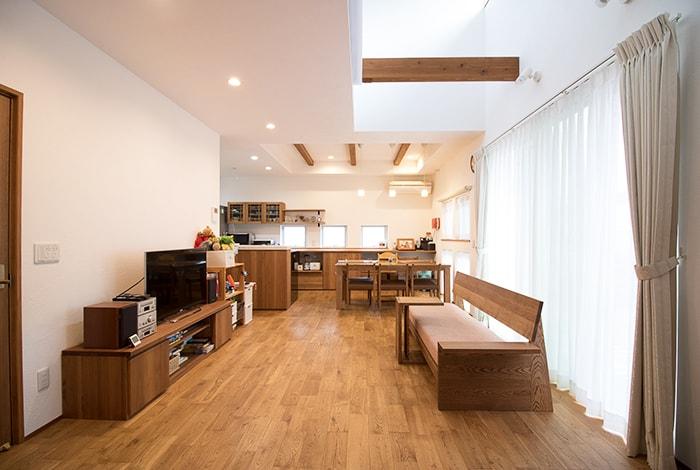 瀬戸市H様邸「日当たりの良い暮らしを叶えた自然素材の家」
