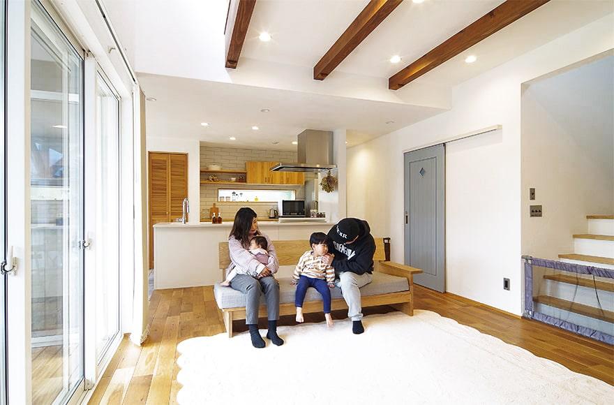 関市N様邸「ラナイのあるナチュラルな北欧スタイルの家」