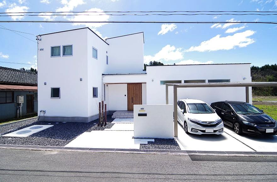 恵那市H様邸「リビングと居室が分かれた北欧風の家」