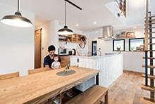 大垣市M様邸「マリンスタイルのカフェのような家」